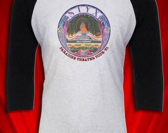 Paradise Theater 1981 Vintage Tee T-shirt Tour Jersey FREE SHIP