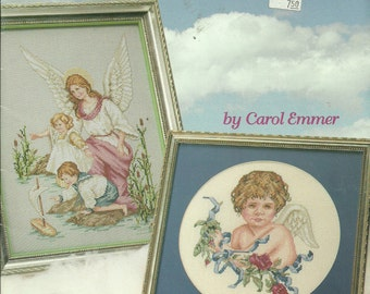 Guardian Angels Cross Stitch Patterns Carol Emmer #3656 Pub. 1994