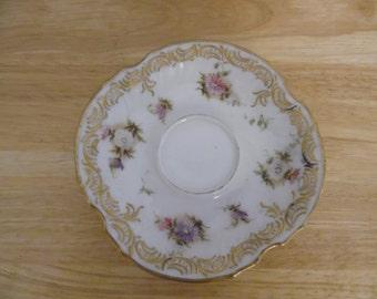 Cute Vintage Flower Plate