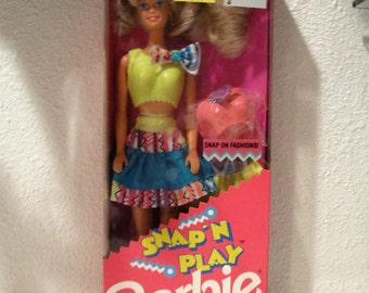 Snap and Play Barbie