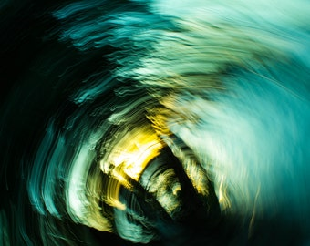 You Choose Size - Abstract lens zoom - Fine Art Print
