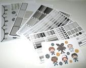 Friends Don't Lie Full Week Planner Sticker Kit