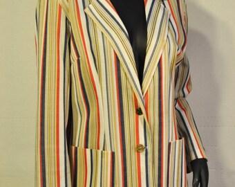 Women's Vintage Striped Sweater