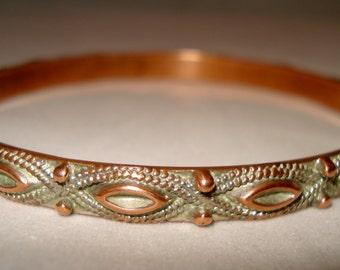 copper bracelet/bangle