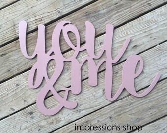 Blush Pink You & Me