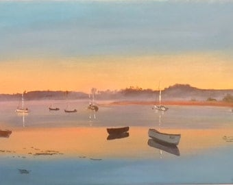 Sunrise over Topsham