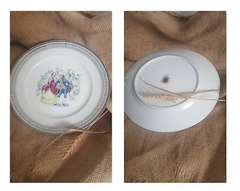 Vintage porcelain plate Edenthal