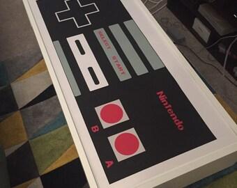 Nintendo NES Controller Poster
