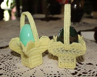 Miniature Easter Basket Sets // 2 per Set // Easter Egg Holders // Easter Treat Holders // Easter Decorations // Easter Gifts