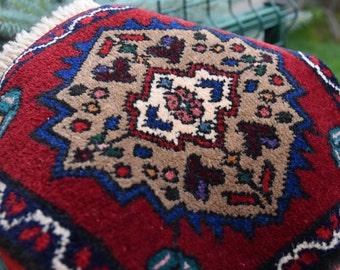 Small Size Rug Vintage Anatolian Table Cover Decor Rug Home Decor Doormat  Rug Wall Rug Kids
