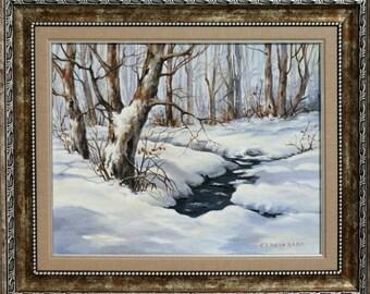 Winter Stream in Bulgaria
