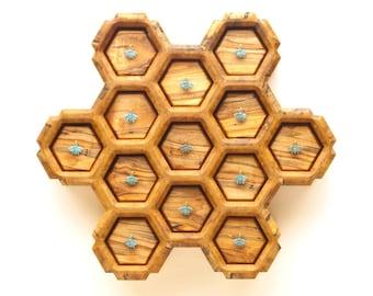 Honeycomb Bee Box