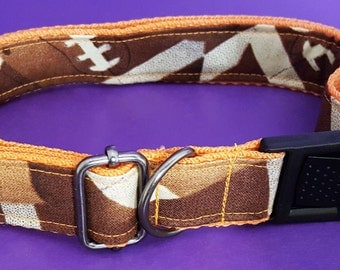 Boutique Dog Collar Perfect for Big Orange Tennessee Football