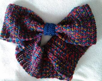 Scarf girl/crochet neck warmer