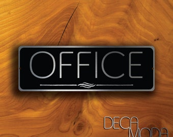 office door sign: professional personalized wood sign gift 10