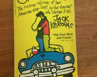VINTAGE On the Road by Jack Kerouac