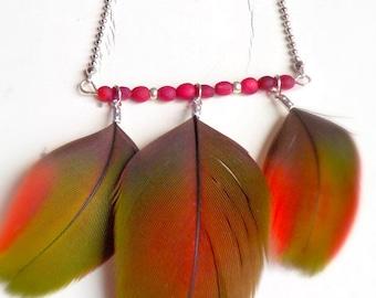 Bahia Plume16 - red