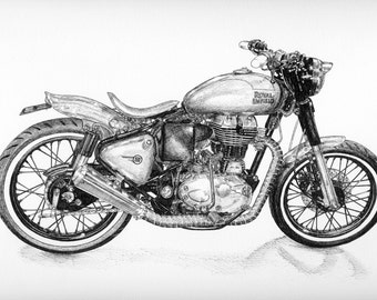 Royal Enfield 500 custom