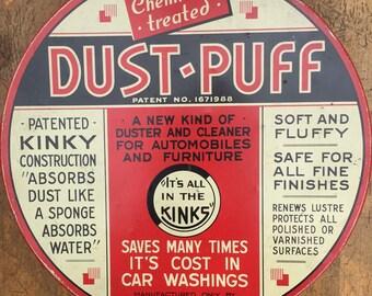 Antique Hardware Tin