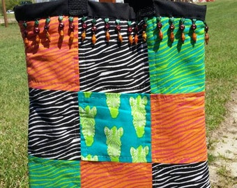 Handmade quilted totes for your tablet