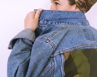SALE! Levi Denim customised vintage jacket