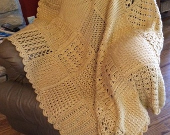 Autumn Maize Afghan