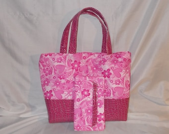 Breast Cancer Awareness Tote set
