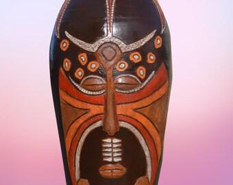 Vase XXL 145cm - African Mask