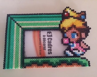 Framework of baby Peach in Hama beads
