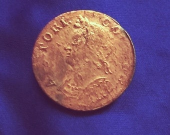 1787 Colonial Connecticut Copper Coin
