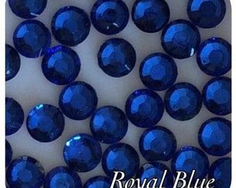4000 Royal Blue Resin Rhinestone Crystals 2,3,4 & 5mm