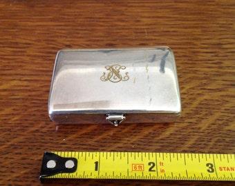 Silver Pill Box Vesta