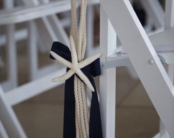 Nautical Wedding Aisle Decor