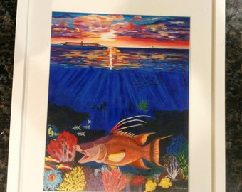 Hogfish art – Etsy