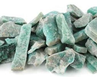 1lb. Amazonite Raw Stones