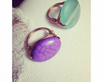 WireWrapped rings