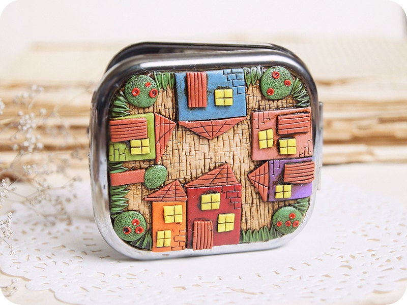 Fairy House Birthday Gift For Architect Colorful Houses