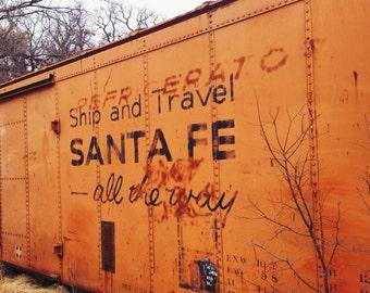 Freight train, Oklahoma