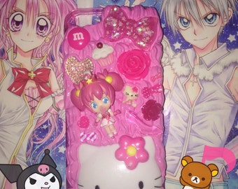 Stardust Witch Meruru Oreimo Hello Kitty Decoden Phone Case iPhone 5 & iPhone SE