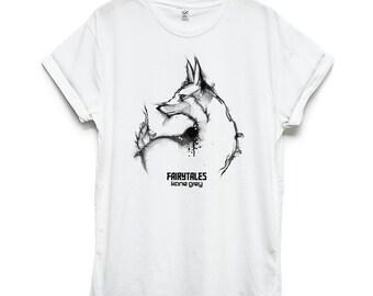 Fox fairy - shirt - men