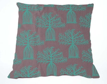 BOABAB Turqouise Scatter Cushion Cover