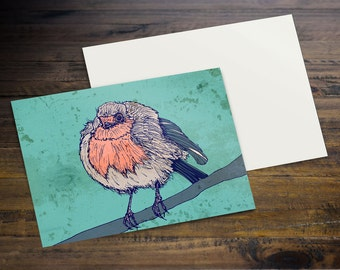 Chilly Robin - Postcard (A6)