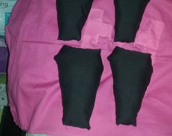 4pc Coffin Decorative Pillows