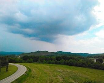 Storm cloud photo, landscape photography,  Pennsylvania photography