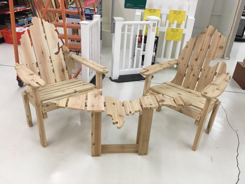 Cedar Michigan Adirondack Chair
