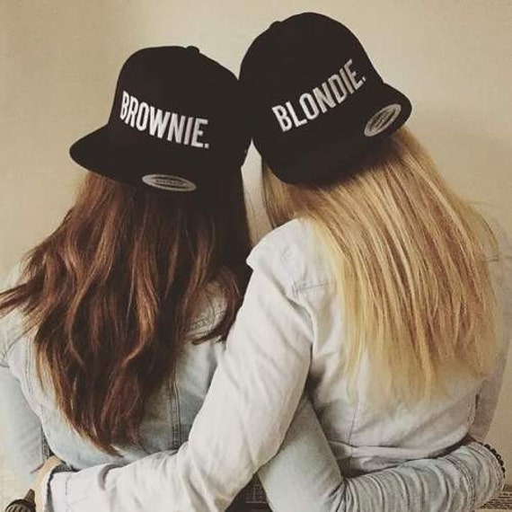 blondie brownie snapback pair fashion embroidered by. Black Bedroom Furniture Sets. Home Design Ideas