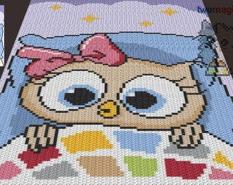 sleepy crochet pattern graphghan jpg and by twomagicpixels