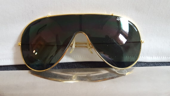 66c05e18b01 1970s vintage Wings Bausch   Lomb Ray Ban aviator sunglasses