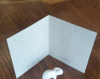 """A1 Blank Kraft Cards. 3.5""""x4.875"""" Note Cards. 20 pt Chipboard Cards. 3 1/2""""x4 7/8"""" Kraft Cards. DIY Cards. Blank Cards."""