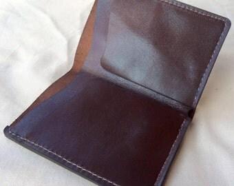 No Fuss two pocket cash & card wallet